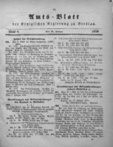 Amts-Blatt der Königlichen Regierung zu Breslau, 1870, Jg. 61, St. 8