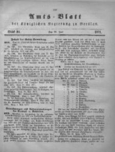 Amts-Blatt der Königlichen Regierung zu Breslau, 1871, Jg. 62, St. 24