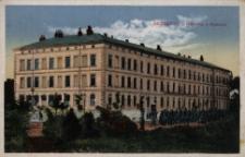 Brzeżany. Budynek Koszar, 1917 r.