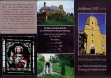 Jubileusz 100-lecia kościoła parafialnego p.w. Podwyższenia Krzyża Świętego w Bogdanowicach.