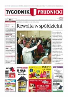 Tygodnik Prudnicki : prywatna gazeta lokalna gmin : Prudnik, Biała, Głogówek, Korfantów, Lubrza, Strzeleczki, Walce. R. 19, nr 25 (965) [964].