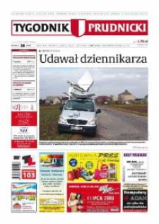 Tygodnik Prudnicki : prywatna gazeta lokalna gmin : Prudnik, Biała, Głogówek, Korfantów, Lubrza, Strzeleczki, Walce. R. 19, nr 28 (968) [967].