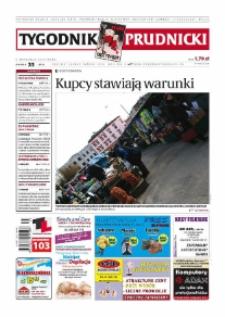 Tygodnik Prudnicki : prywatna gazeta lokalna gmin : Prudnik, Biała, Głogówek, Korfantów, Lubrza, Strzeleczki, Walce. R. 19, nr 35 (975) [974].