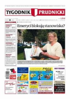 Tygodnik Prudnicki : prywatna gazeta lokalna gmin : Prudnik, Biała, Głogówek, Korfantów, Lubrza, Strzeleczki, Walce. R. 19, nr 39 (979) [978].