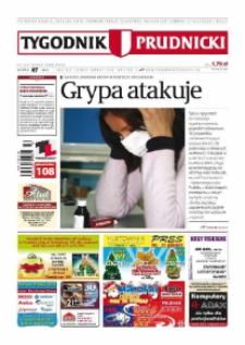 Tygodnik Prudnicki : prywatna gazeta lokalna gmin : Prudnik, Biała, Głogówek, Korfantów, Lubrza, Strzeleczki, Walce. R. 19, nr 47 (987) [986].