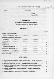 Załącznik nr 1 do Informacji o realizacji ważniejszych zadań gospodarczych za wrzesień 1972 r.