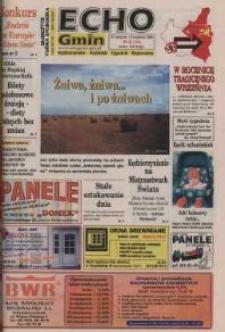 Echo Gmin : kędzierzyńsko-kozielski tygodnik regionalny 1999, nr 35 (104).