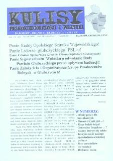 Kulisy przedsiębiorczości i polityki : Baborów, Branice, Głubczyce, Kietrz 2004, nr 3 (8).
