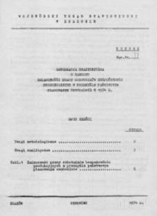 Informacja statystyczna z zakresu zmianowości pracy robotników bezpośrednio produkcyjnych w przemyśle państwowym planowanym centralnie w 1974 r.