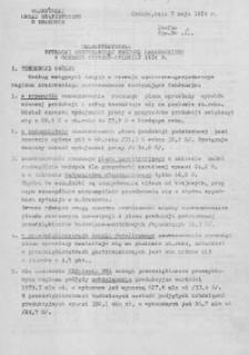 Charakterystyka sytuacji gospodarczej regionu krakowskiego w okresie styczeń - kwiecień 1974 r.