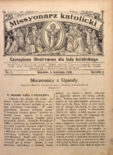 Misyonarz Katolicki, 1891, R. 1, nr 7