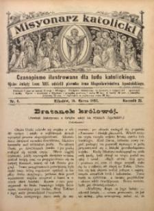 Misyonarz Katolicki, 1892, R. 2, nr 6