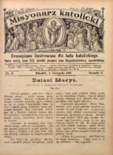 Misyonarz Katolicki, 1892, R. 2, nr 21