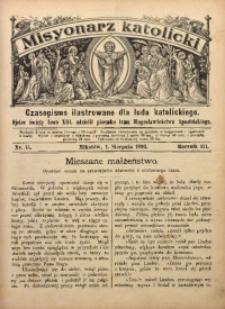 Misyonarz Katolicki, 1893, R. 3, nr 15