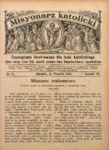 Misyonarz Katolicki, 1893, R. 3, nr 18