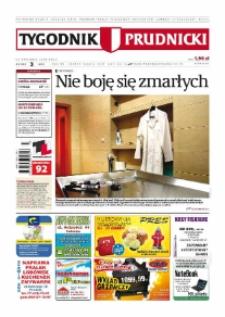 Tygodnik Prudnicki : prywatna gazeta lokalna gmin : Prudnik, Biała, Głogówek, Korfantów, Lubrza, Strzeleczki, Walce. R. 20, nr 3 (995) [994].
