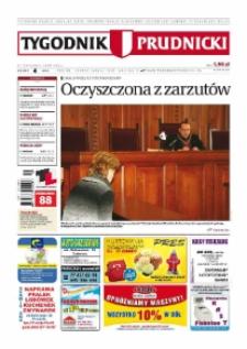 Tygodnik Prudnicki : prywatna gazeta lokalna gmin : Prudnik, Biała, Głogówek, Korfantów, Lubrza, Strzeleczki, Walce. R. 19, nr 4 (996) [995].