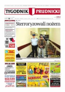 Tygodnik Prudnicki : prywatna gazeta lokalna gmin : Prudnik, Biała, Głogówek, Korfantów, Lubrza, Strzeleczki, Walce. R. 20, nr 19 (1011) [1010].