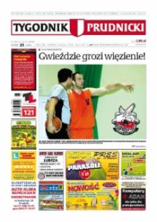 Tygodnik Prudnicki : prywatna gazeta lokalna gmin : Prudnik, Biała, Głogówek, Korfantów, Lubrza, Strzeleczki, Walce. R. 20, nr 21 (1013) [1012].