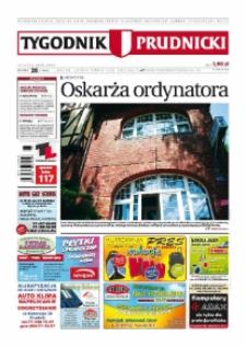Tygodnik Prudnicki : prywatna gazeta lokalna gmin : Prudnik, Biała, Głogówek, Korfantów, Lubrza, Strzeleczki, Walce. R. 20, nr 28 (1020) [1019].