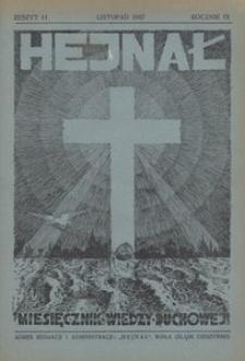 Hejnał, 1937, R. 9, z. 11