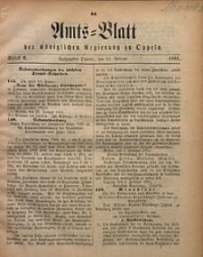 Amts-Blatt der Königlichen Regierung zu Oppeln, 1881, Bd. 66, St. 6