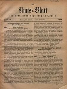 Amts-Blatt der Königlichen Regierung zu Oppeln, 1881, Bd. 66, St. 38