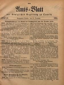 Amts-Blatt der Königlichen Regierung zu Oppeln, 1881, Bd. 66, St. 50