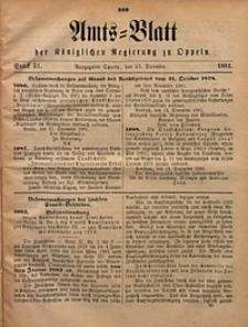 Amts-Blatt der Königlichen Regierung zu Oppeln, 1881, Bd. 66, St. 51