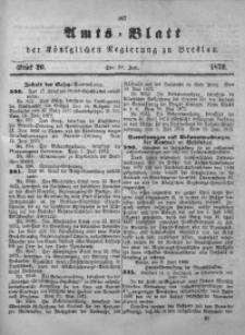 Amts-Blatt der Königlichen Regierung zu Breslau, 1872, Bd. 63, St. 26