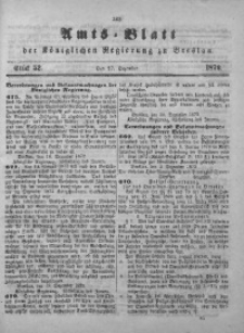 Amts-Blatt der Königlichen Regierung zu Breslau, 1872, Bd. 63, St. 52