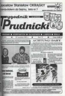 Tygodnik Prudnicki : gazeta lokalna. R. 4, nr 37 (150).