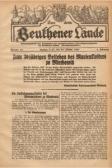 Aus dem Beuthener Lande, 1927, Jg. 4, Nr. 18