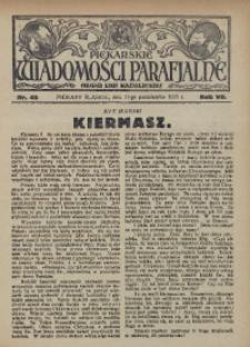 Piekarskie Wiadomości Parafjalne. Organ Ligi Katolickiej, 1935, R. 7, nr 42