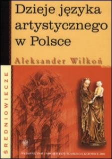 Dzieje języka artystycznego w Polsce : średniowiecze
