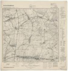 Schönwald (Krzywizna). Arkusz nr 4975 [2899]- 1940 r.