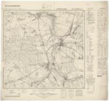 Landsberg in Oberschlesien (Gorzów Śląski). Arkusz nr 4976 [2900]-1940 r.
