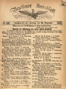 Beuthner Kreisblatt, 1870, No. 50