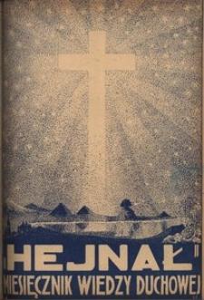 Hejnał, 1938, R. 10, z. 7