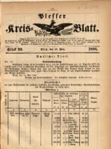 Plesser Kreis-Blatt, 1888, St. 20