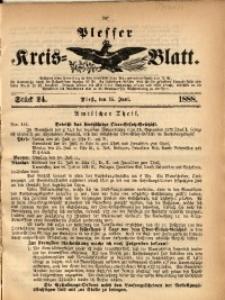 Plesser Kreis-Blatt, 1888, St. 24
