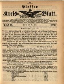 Plesser Kreis-Blatt, 1889, St. 30