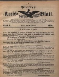 Plesser Kreis-Blatt, 1890, St. 4
