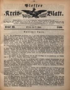 Plesser Kreis-Blatt, 1890, St. 23