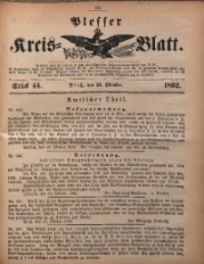 Plesser Kreis-Blatt, 1892, St. 44