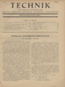Technik, 1928, R. 1, nr 6