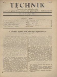 Technik, 1928, R. 1, nr 7
