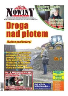 Nowiny Nyskie 2013, nr 44.