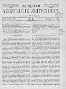 Breslauer Aerztliche Zeitschrift, 1887, Jg. 9, No. 1