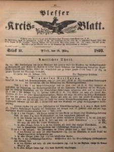 Plesser Kreis-Blatt, 1893, St. 10